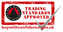 Trading Standards Approved - Buy with Confidence